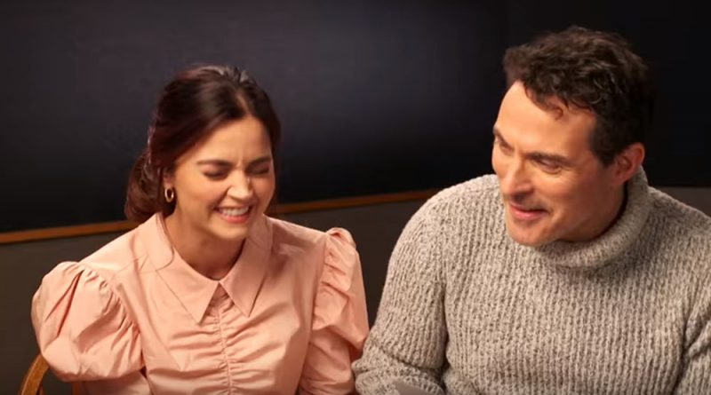Doctor Who series 9: Jenna Coleman films new Doctor Who