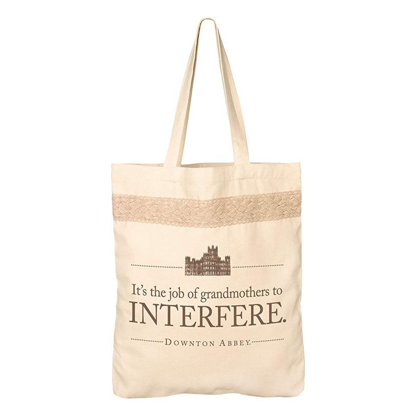 'It's the job of grandmothers to interfere' tote bag