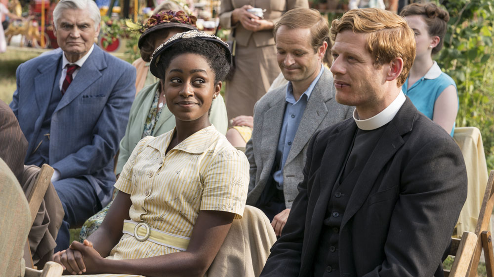 Grantchester Christmas Special 2021 Cast 10 New Pics From Grantchester Season 4 Sidney Meets His Replacement British Period Dramas