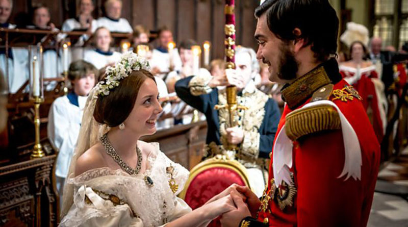 The BBC is re-staging Queen Victoria and Prince Albert's wedding!