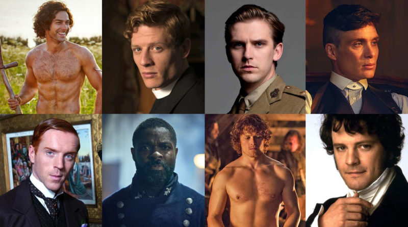 Poll: Who is the sexiest British period drama TV star ever